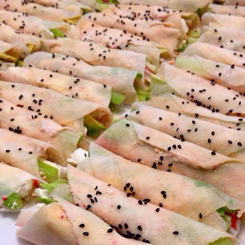 Taquitos de jícama