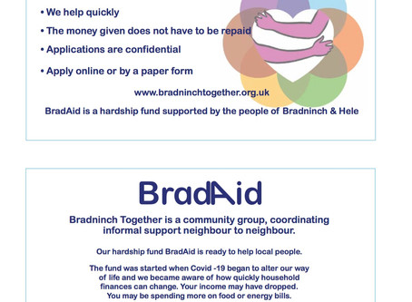 BradAid is there for you!