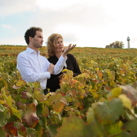 Three Words of Wisdom from Virginie Taittinger and Ferdinand Pougatch