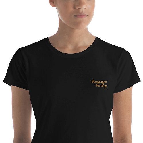 Champagne Tuesday Women's short sleeve t-shirt