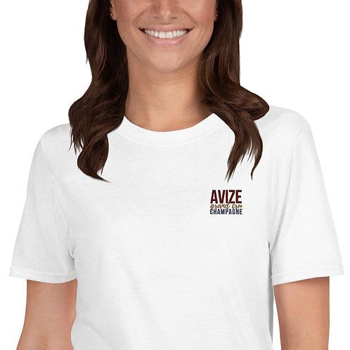Avize Grand Cru Short-Sleeve Unisex T-Shirt