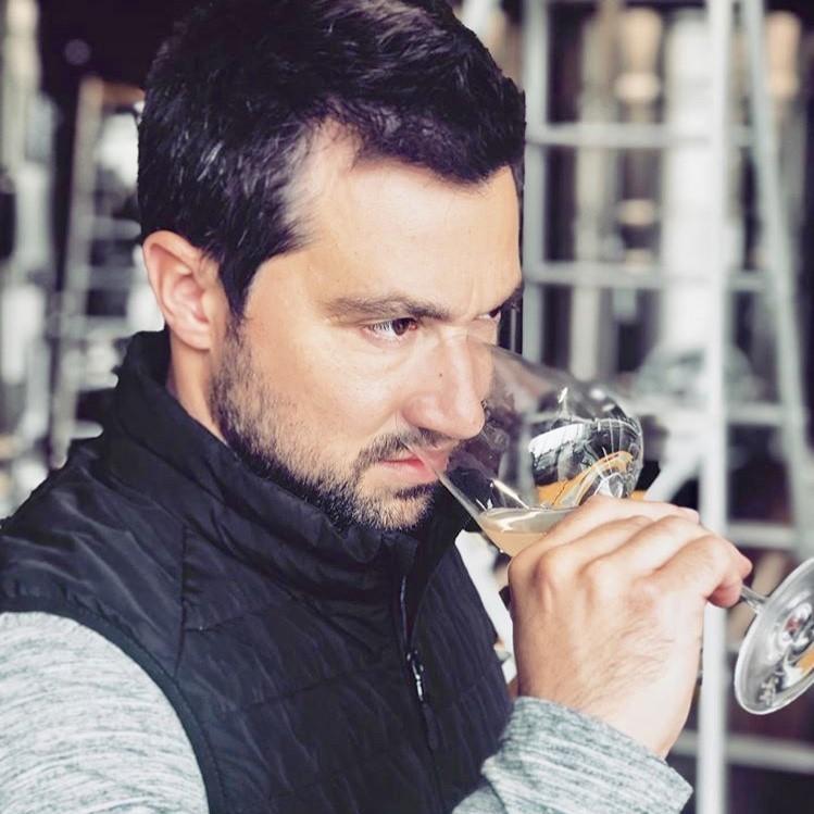Tasting with Etienne Calsac