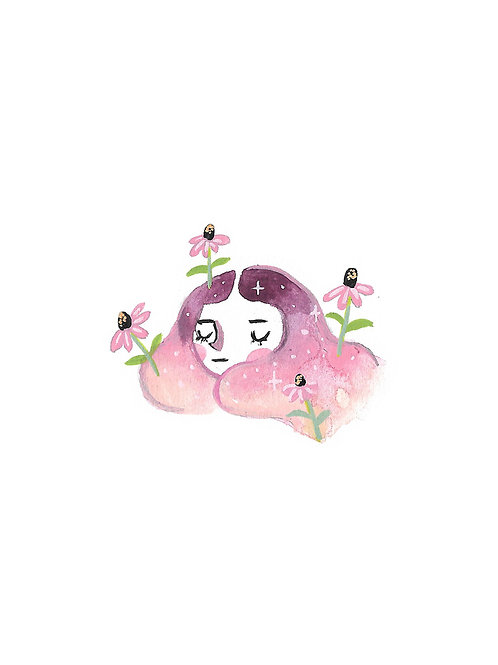 Pink Daisy Gal