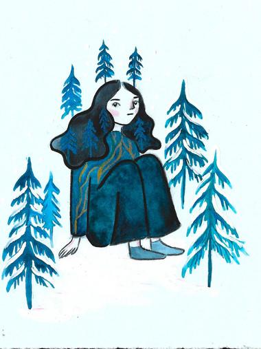 """""""Silhouette of the Cedar"""""""