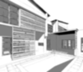 3D house rendering - muller architecture