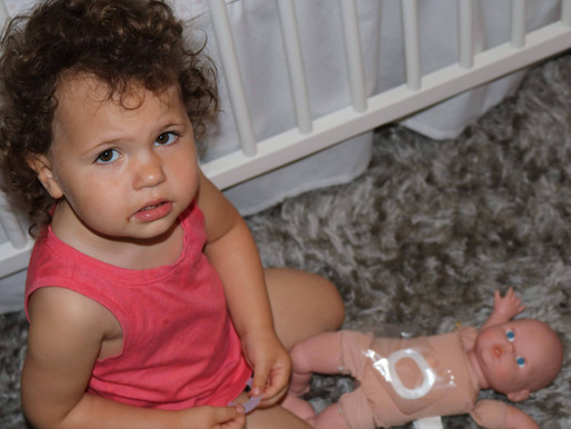 The Power of Play (the shortened tale of Olivia's emergency surgery at two days old and why al