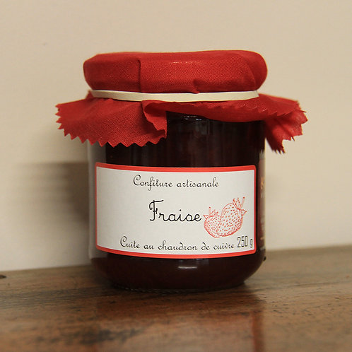 Confiture artisanale Fraise Erdbeer-Konfitüre