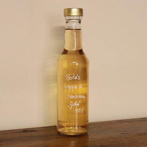 """Berta's Grappa di Chardonnay """"Giulia"""" 40%"""