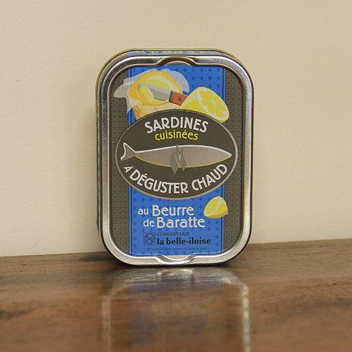 Sardines au Beurre de Baratte