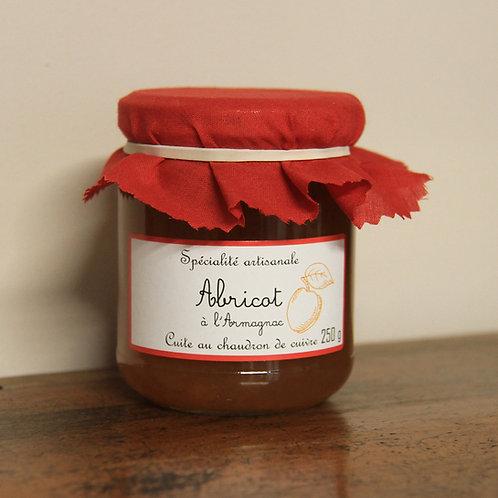 Confiture artisanale Abricot a'l'Armagnac Aprikosen-Konfitüre
