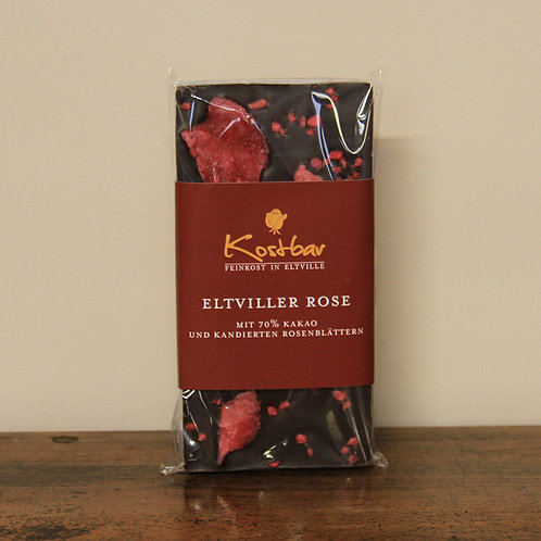 Eltviller Rose - Zartbitterschokolade