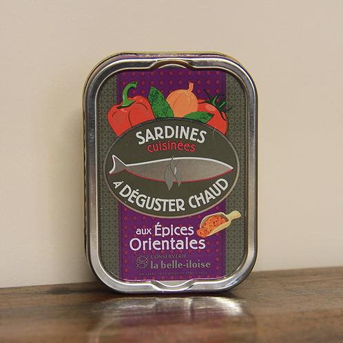 Sardines aux Épices Orientales