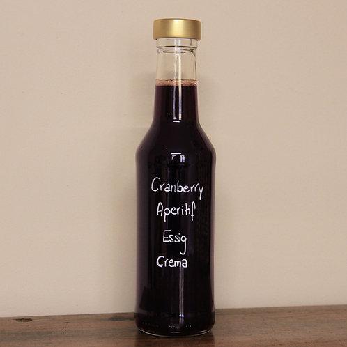 Cranberry Aperitif Essig Crema