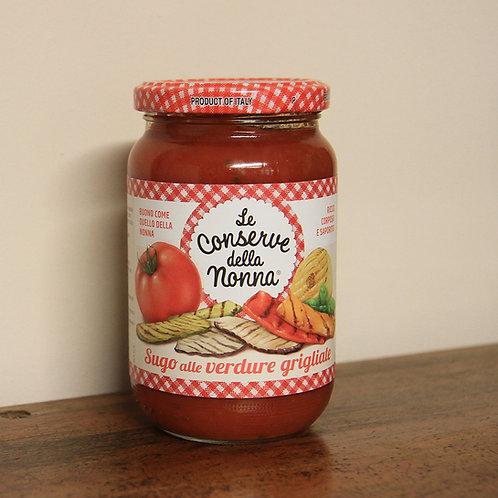 Sugo Le Conserve della Nonna alle verdure grigliate