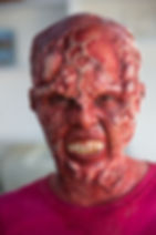 """Mutant SFX makeup by Julie Hassett and Annie Tagge from horror anthology series """"Sleep Tight"""" on go90."""