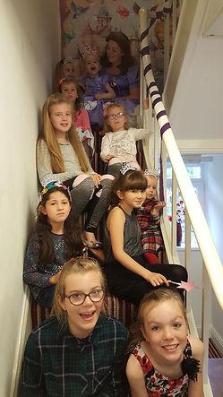 salon party for kids