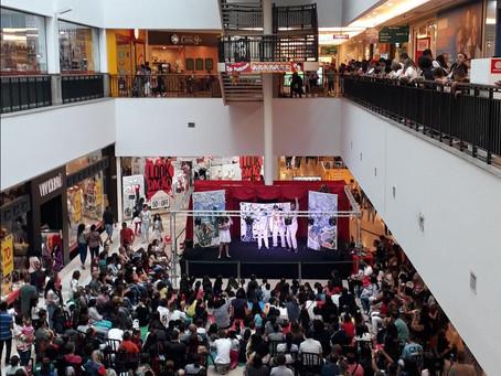 Teatro interativo no Shopping