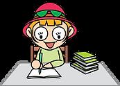 초록배낭 캐릭터-책을보는(여).png