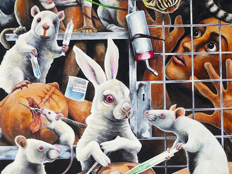 A crueldade por trás dos testes em animais