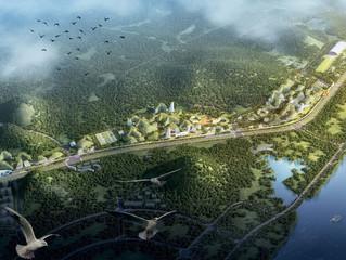 China deve combater poluição no país com cidade inteiramente verde
