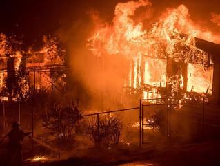 Como um incêndio afeta uma casa em Steel Framing