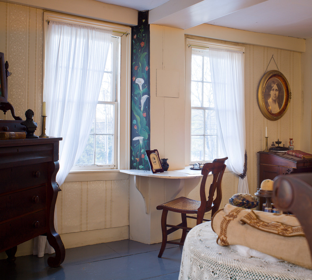 Orchard House: Louisa May Alcott's room