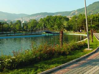 الحدائق في بورصة ويلوى