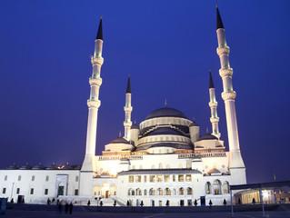 المساجد في تركيا
