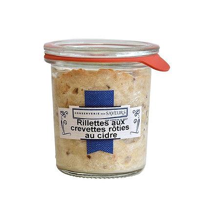 Rillettes aux crevettes rôties au cidre - 100g