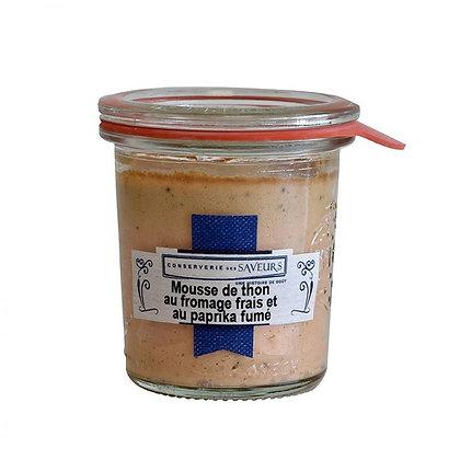 Mousse de thon au fromage frais et paprika fumé - 100g
