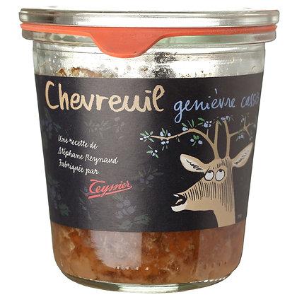 Terrine Chevreuil genièvre cassis- 200g