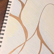 Kintsugi Style Journal Cover
