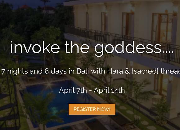 Bali Retreat Booking / Single Room