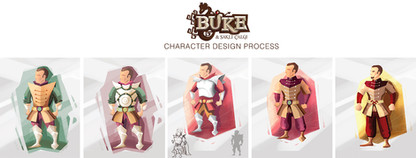 Buke / Game Character Design Process