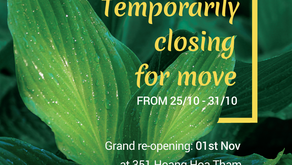 🎉Temporarily closing for move! 🏡