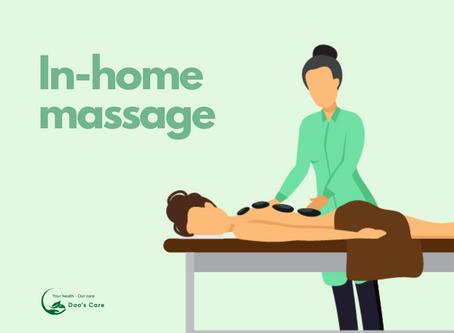 In-home massage from Dao's Care