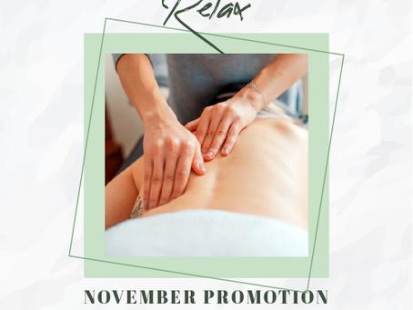 November special offer