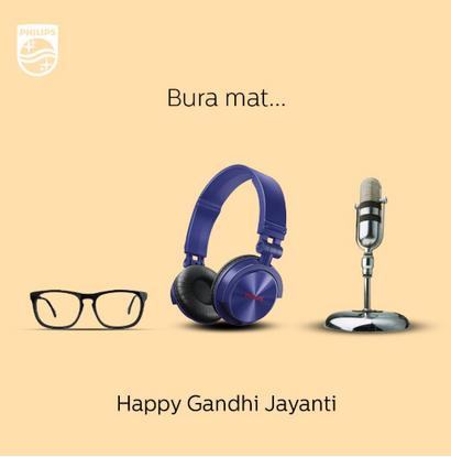 Celebrating Gandhi Jayanti Through Creative Brand Campaigns!