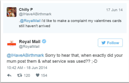Brand savagery by Royal Mail