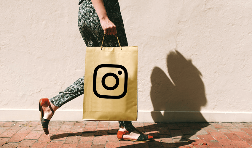 Shopping on Instagram is going to become the in thing.