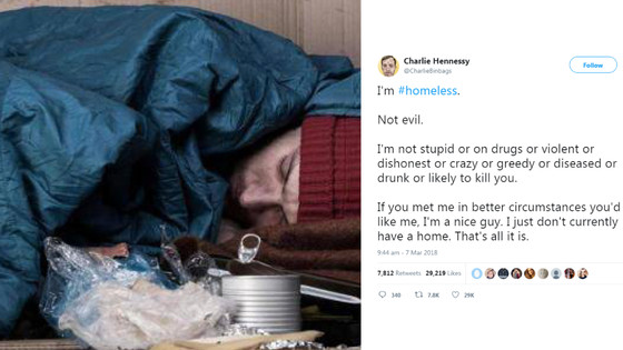 Twitter for everyone: How access to the internet changed the life of a homeless man