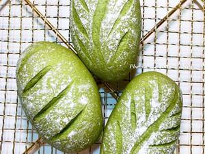 抹茶麻糬軟歐(波蘭種)