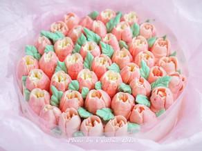 母親節花束蛋糕