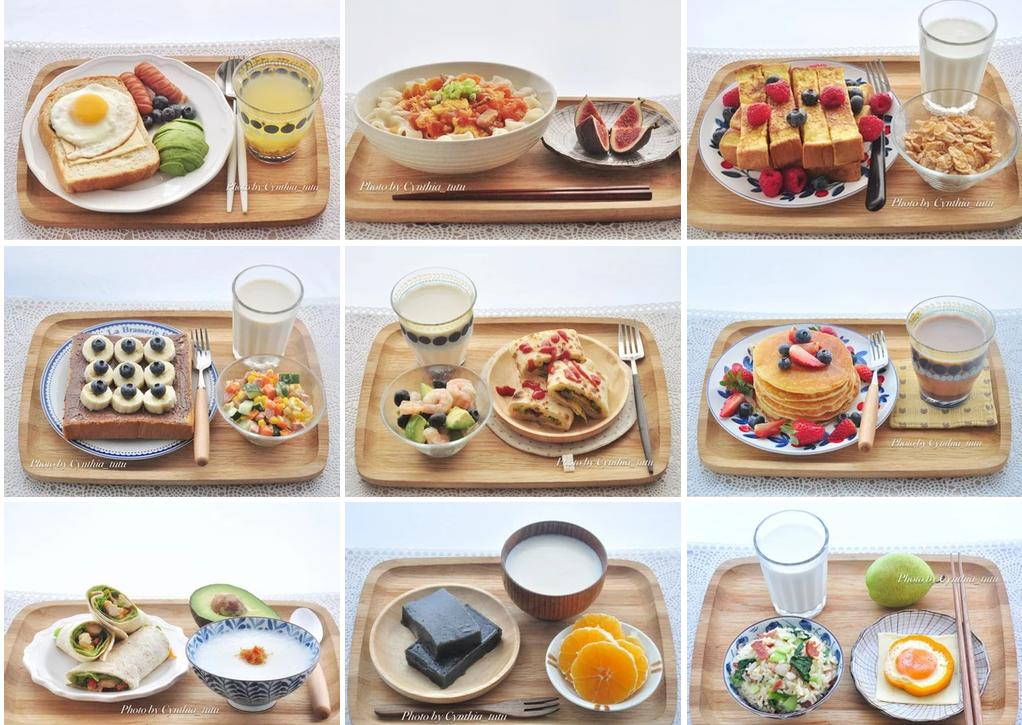 250天早餐大挑戰 250 Days Breakfast Challenge