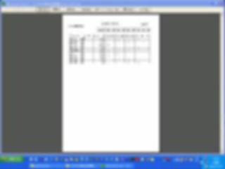 「エクセル現金出納帳」金種計算表の印刷イメージ