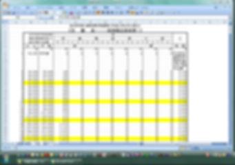 「税額計算表」月額シート