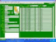 「Access会費徴収管理システム」会員マスター画面