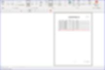 「Access原価計算システム」配賦基準値集計表レポート