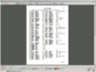 「Inage式会計帳簿」仕訳帳の印刷イメージ
