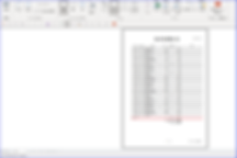 「Access原価計算システム」製造間接費集計表レポート
